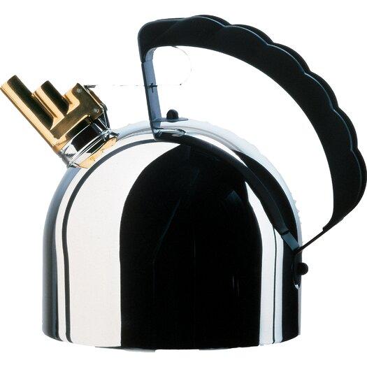 Alessi 2.09-qt. Steel Bottom Water Tea Kettle