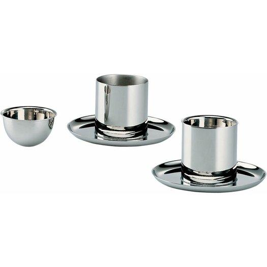 Alessi Bauhaus 2 Piece Egg Cup