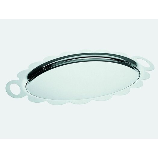 Alessi Alessandro Mendini Recinto Oval Serving Tray