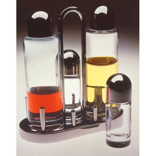 Alessi 5070 Condiment Set by Ettore Sottsass, 1978