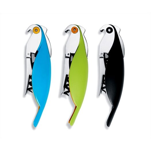 Alessi Dream Factory by Alessandro Mendini Parrot Corkscrew