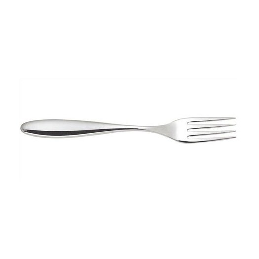 Alessi Mami Dessert Fork in Mirror Polished by Stefano Giovannoni