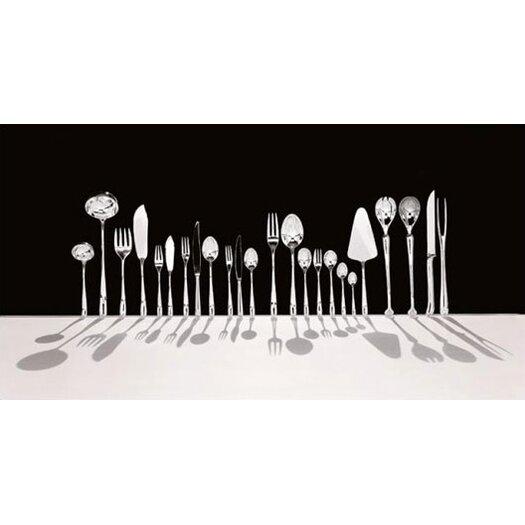 Alessi Caccia Dessert Spoon in Mirror Polished by Luigi Caccia Dominioni