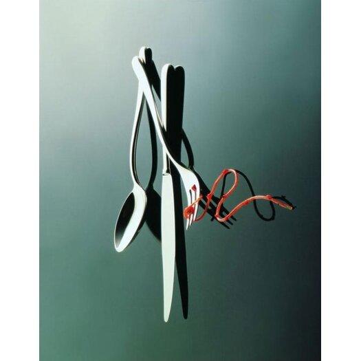 Alessi Caccia by Luigi Caccia Dominioni 4 Piece Flatware Collection