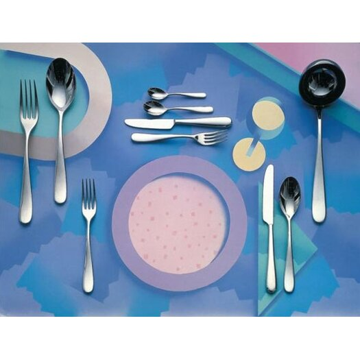Alessi Nuovo Milano by Ettore Sottsass 24 Piece Flatware Set