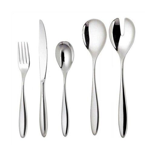 Alessi mami by stefano giovannoni 24 piece flatware set allmodern - Alessi flatware sale ...