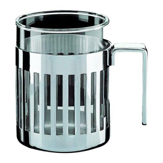Alessi Aldo Rossi 12.5 Oz. Mug with Heat Resistant Glass