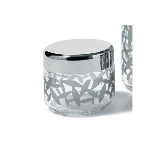 Alessi 16.9-Ounce Cactus! Kitchen Canister with Hermetic Lid by Marta Sansoni