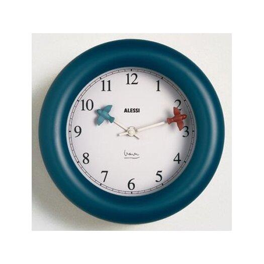 "Alessi 10"" Michael Graves Kitchen Wall Clock"