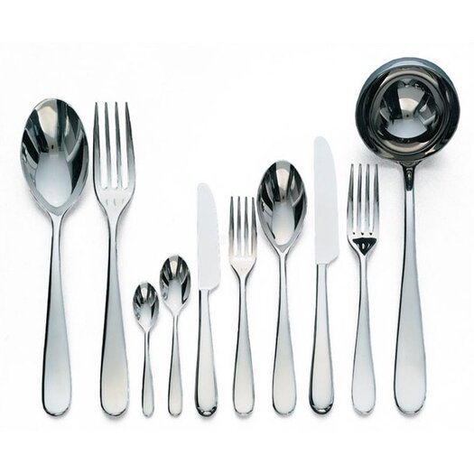 Alessi-Nuovo Milano by Ettore Sottsass 36 Piece Flatware Set