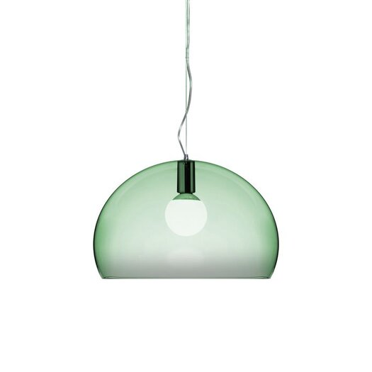 Kartell FL/Y 1 Light Suspension Bowl Pendant