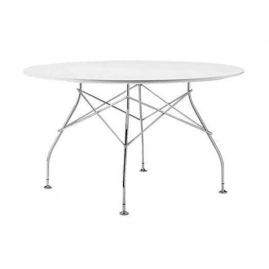"Kartell Glossy Round 51""D Training Table"