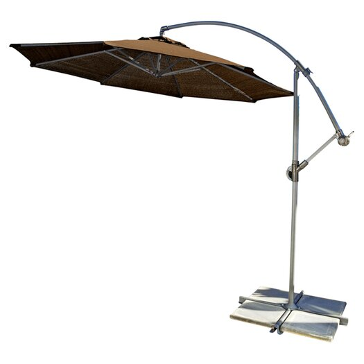 Coolaroo 10 Round Cantilever Patio Umbrella