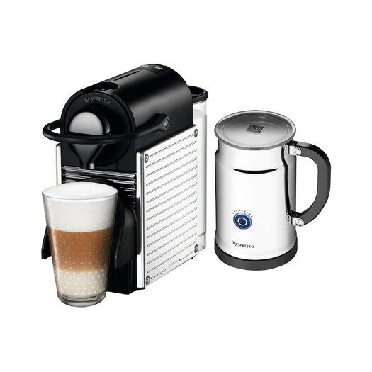 Nespresso OriginalLine Pixie Espresso Maker with Aeroccino Plus Milk Frother