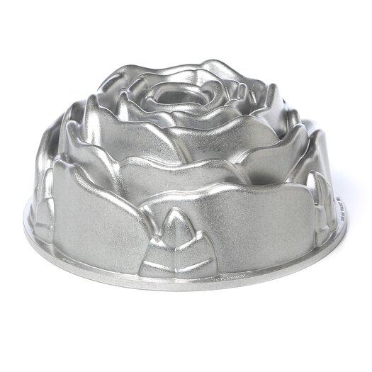 Nordic Ware Platinum Rose Bundt Pan