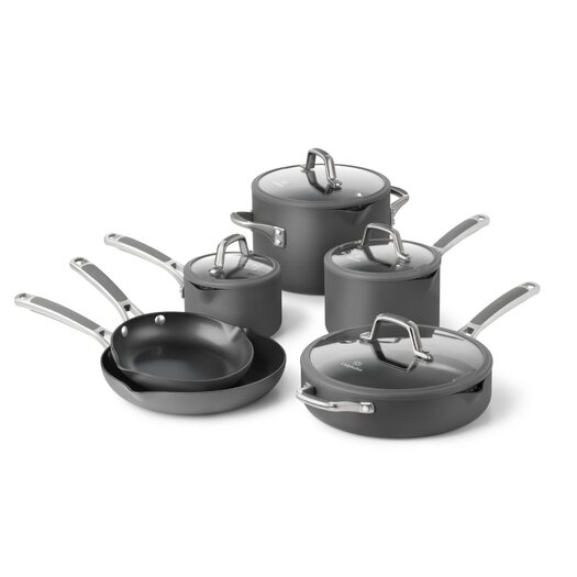 Calphalon Easy System Nonstick 10 Piece Cookware Set