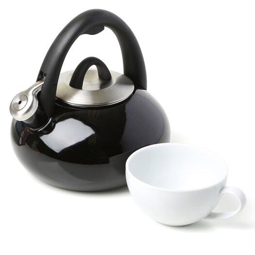 Calphalon Accessories 2-qt. Enamel Tea Kettle