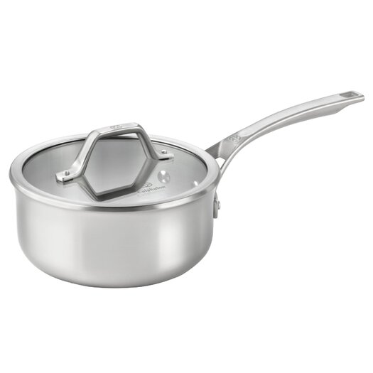 Calphalon AcCuCore 2.5-qt. Shallow Saucepan with Lid