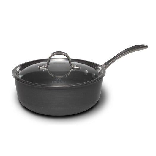 Calphalon Commercial 3 Qt. Chef's Saute Pan with Lid