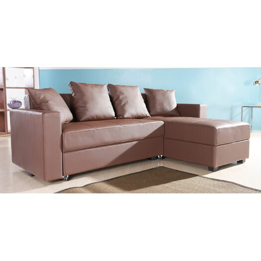 Gold Sparrow Sleeper Sectional