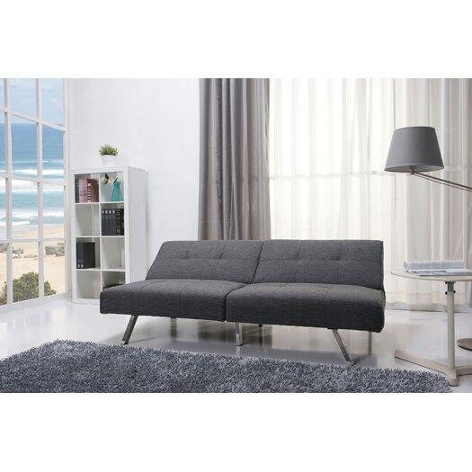 Gold Sparrow Victorville Foldable Futon Sofa Bed Allmodern