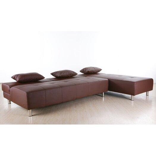 Gold Sparrow Atlanta Convertible Sectional Sofa Allmodern