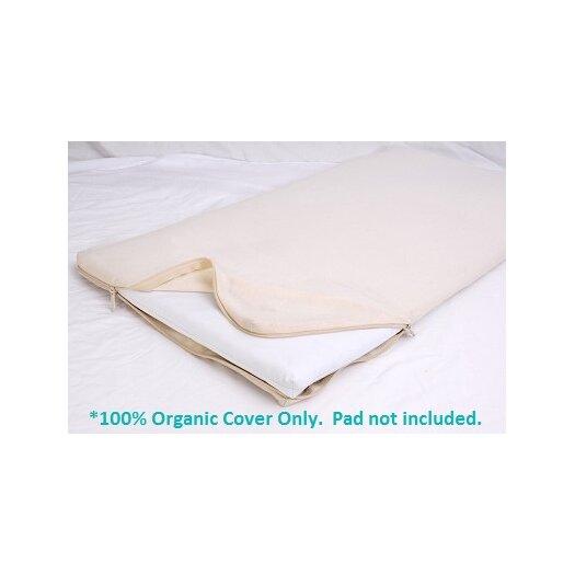 Moonlight Slumber All-in-One Organic Cotton Cradle Mattress Coverlet