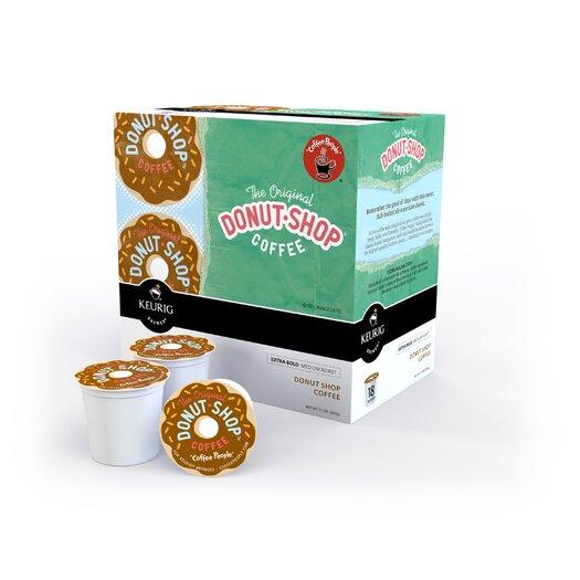 Keurig Coffee People Donut Shop Coffee K-Cup (Pack of 108)