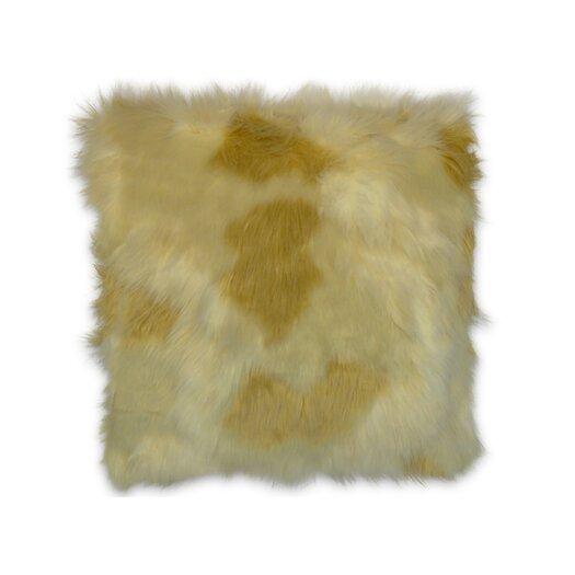 DR International BurFur Faux Fur Throw Pillow