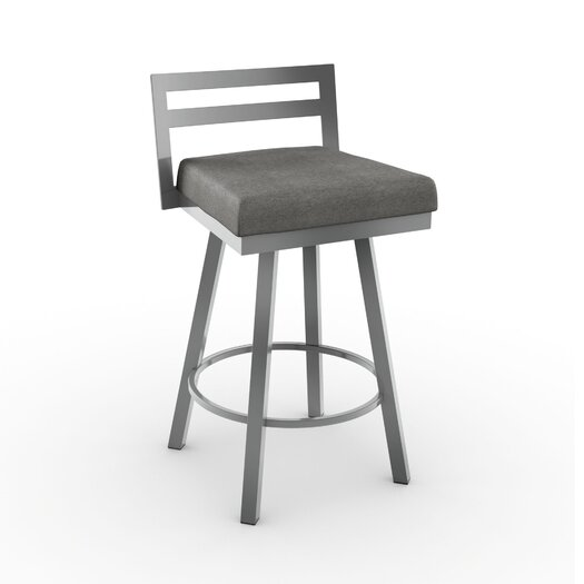 Amisco Urban Style 26 75 Quot Swivel Bar Stool With Cushion