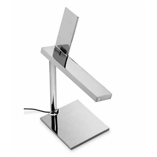 """FLOS D'E-LIGHT 12.48"""" H Table Lamp with Rectangular Shade"""