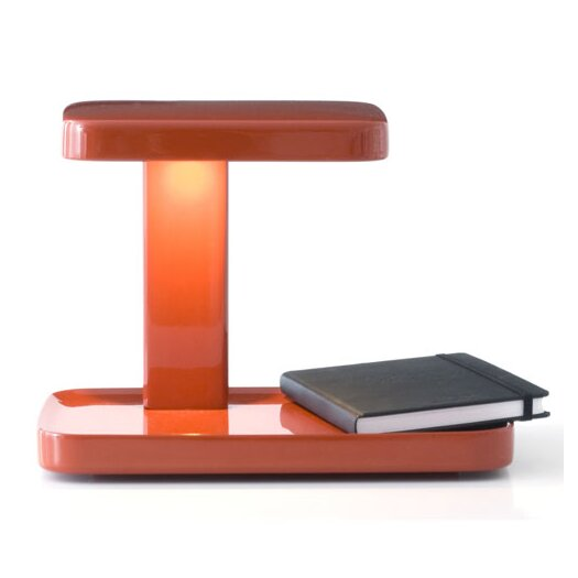 """FLOS Piani 7.87"""" H Table Lamp with Rectangular Shade"""