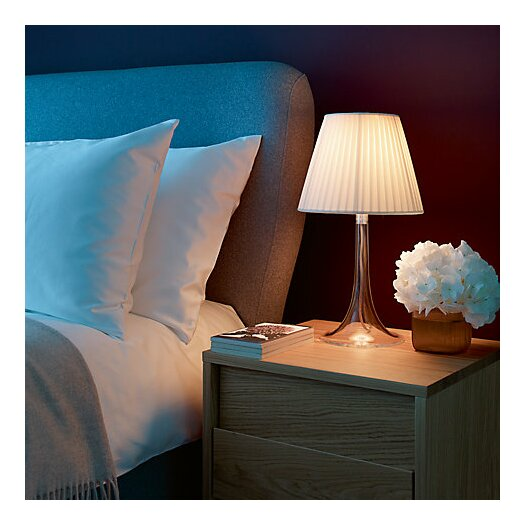"""FLOS Miss K Soft 17"""" H Table Lamp with Empire Shade"""