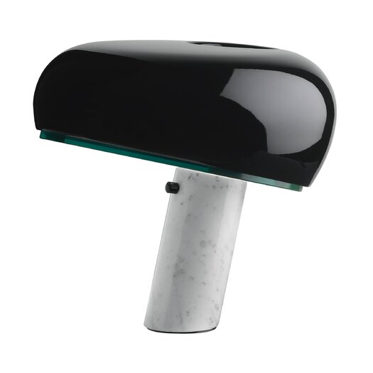 """FLOS Snoopy Touch 14.52"""" H Table Lamp with Novelty Shade"""