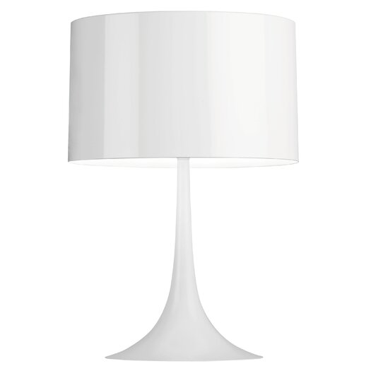 FLOS Spun Light Table Lamp with Drum Shade