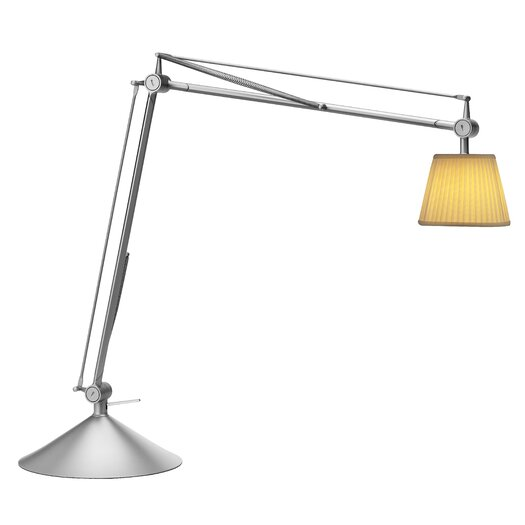 """FLOS Archimoon Soft 22.3"""" H Table Lamp with Empire Shade"""