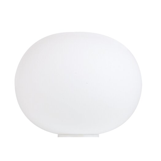 "FLOS Glo-Ball Basic 14.17"" H Table Lamp with Sphere Shade"