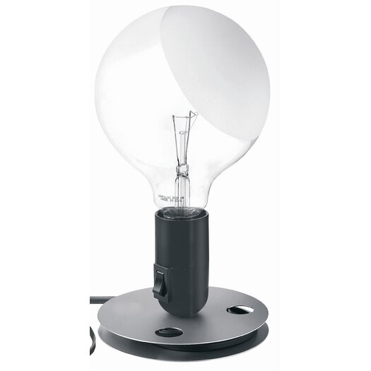 "FLOS Lampadina 9.5"" H Table Lamp with Sphere Shade"