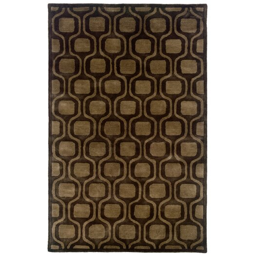 LR Resources Majestic Charcoal Area Rug