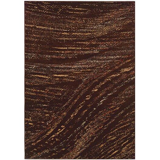 LR Resources Adana Brown & Light Brown Area Rug