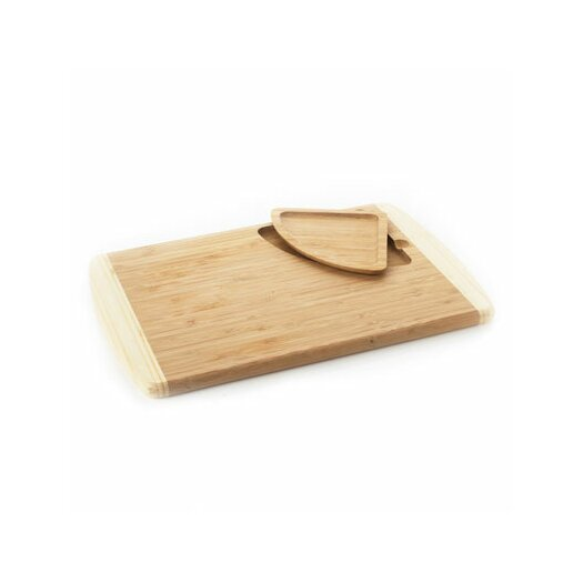 Natural Home Cutting Board with Liftout Tray