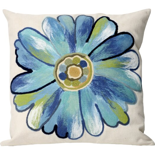 Liora Manne Daisy Indoor/Outdoor Throw Pillow