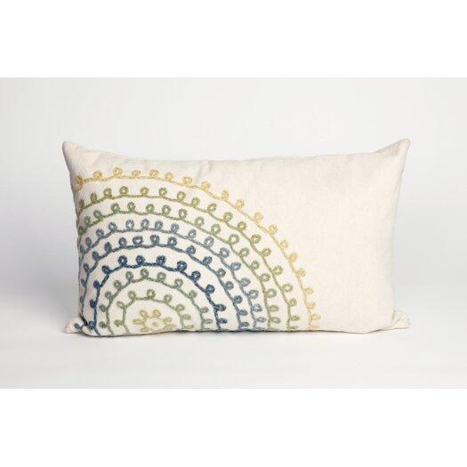 Liora Manne Ombre Threads Indoor/Outdoor Lumbar Pillow