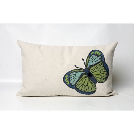 Liora Manne Butterfly Indoor/Outdoor Lumbar Pillow