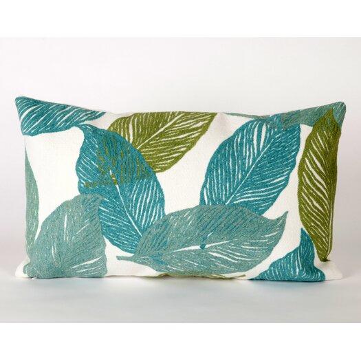 Liora Manne Mystic Leaf Indoor/Outdoor Lumbar Pillow