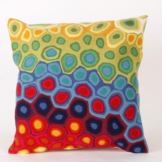 Liora Manne Pop Swirl Indoor/Outdoor Throw Pillow