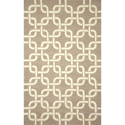 Liora Manne Spello Chains Natural Outdoor Area Rug