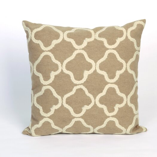 Liora Manne Visions II Crochet Tile Indoor/Outdoor Throw Pillow