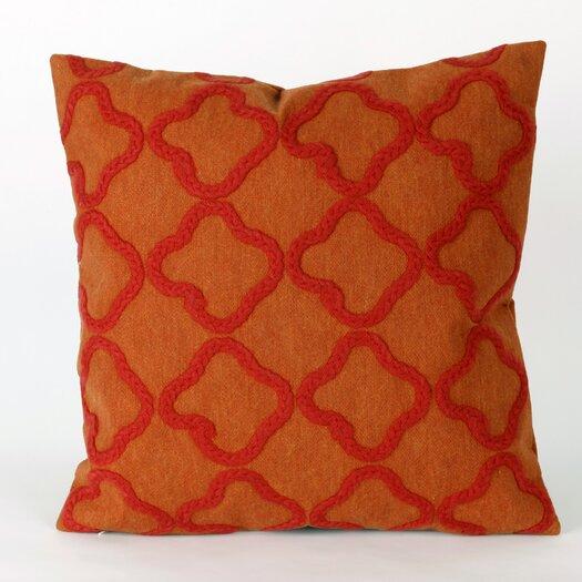 Liora Manne Visions II Crochet Tile Indoor/Outdoor Throw Pillow