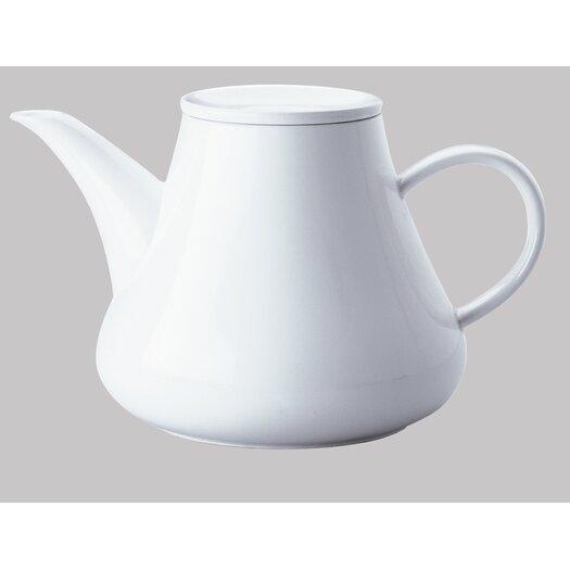 KAHLA Five Senses White 1.5 Liter Coffee / Teapot